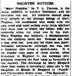 Sydney Morning Herald 9 February 1935