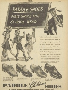 back to school - if the shoe fits