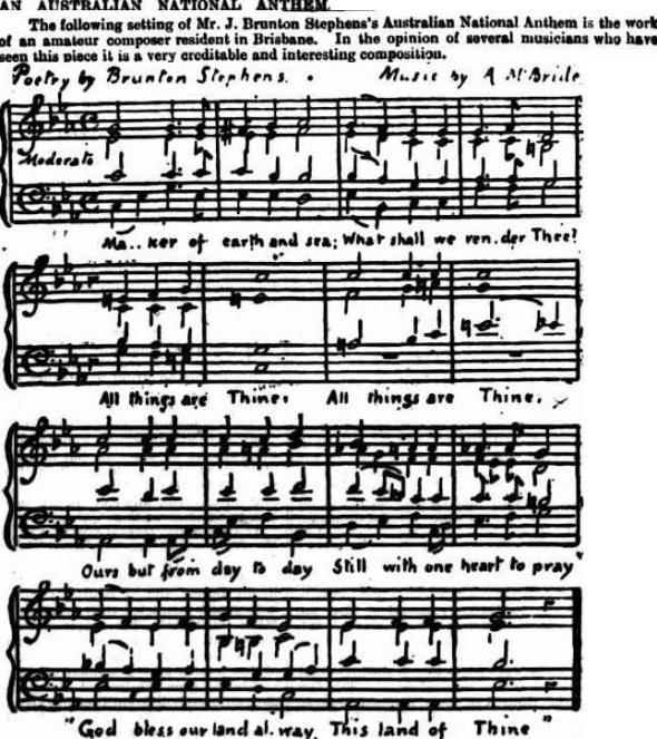 Anthem - 18 Oct 1890