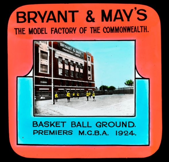 Bryant and May's basket ball ground