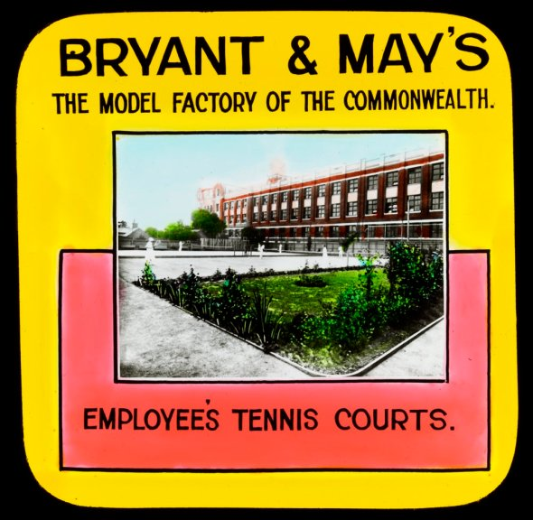 Bryant and May's employee tennis courts