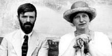 D H and Frieda Lawrence - per elvirabarney
