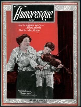 films-muets - Humoresque image 1920