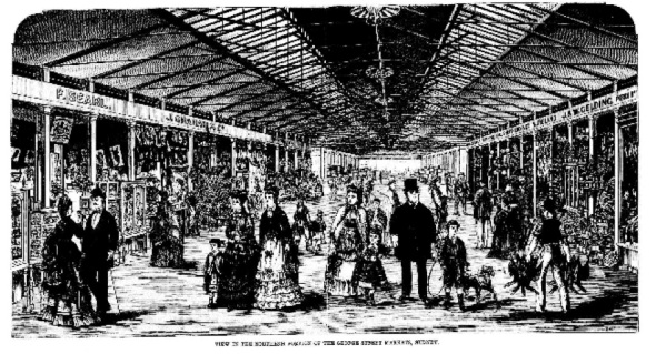 George St markets 1876