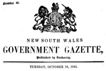 NSW Govt Gazette