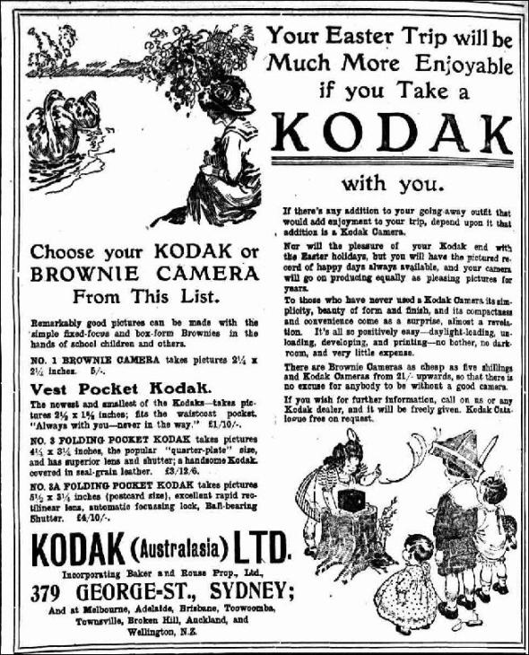SMH 17 March 1913 - Kodak