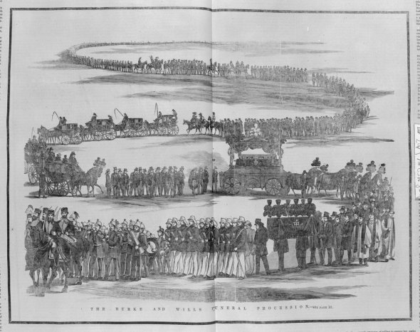Burke-and-Wills-funeral-procession