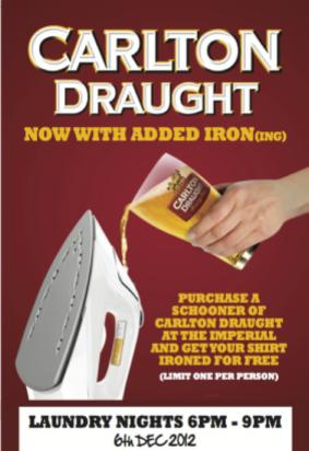 Carlton Beer ad