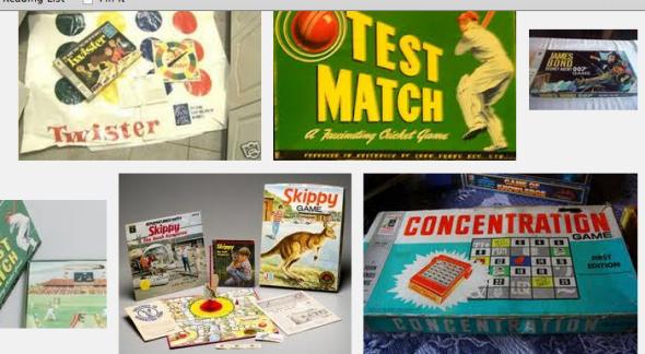 John Sands games