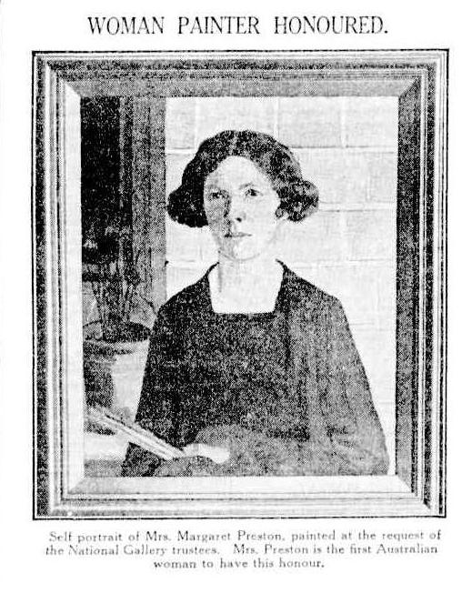 Margaret Preston self-portrait