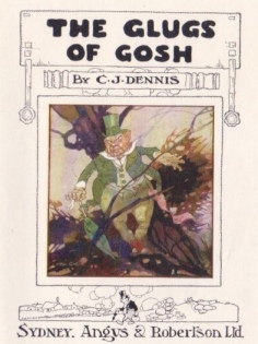 Glugs of Gosh - front cover