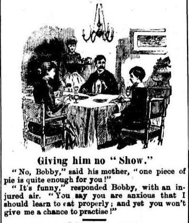 no 'show' cartoon 1887