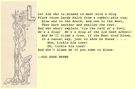 Old Gosh Rhyme