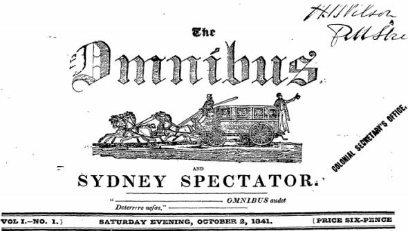 The Omnibus and Sydney Spectator