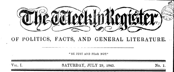 The Weekly Register