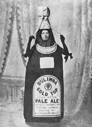 Advertisement for Bulimba Beer brewed in Brisbane 1900