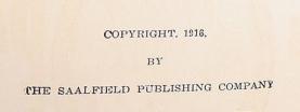 Copyright 1916