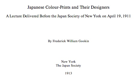 Japanese Color Prints