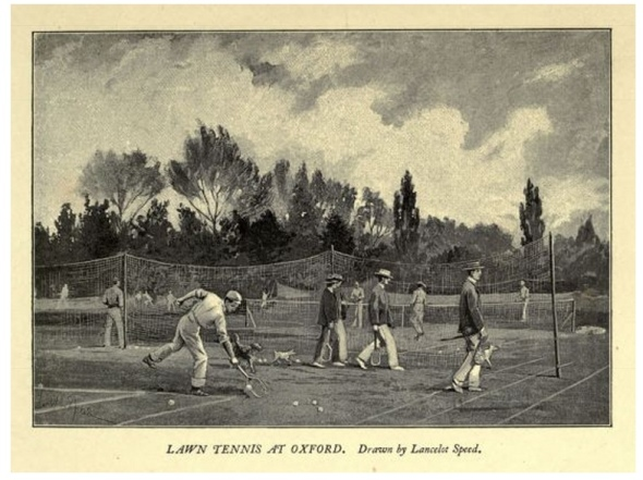 Lawn Tennis at Oxford - Launcelot Speed
