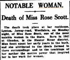 Rose Scott