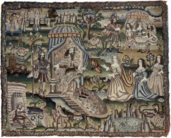 The story of Queen Esther 1630