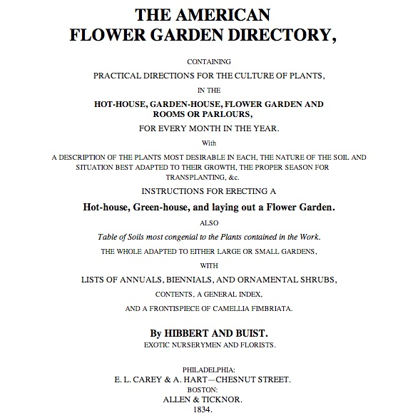 Directory of Flowers