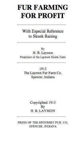Fur farming title page