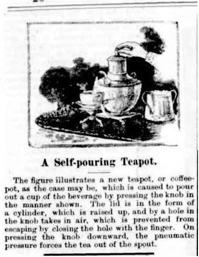 self-pouring teapot