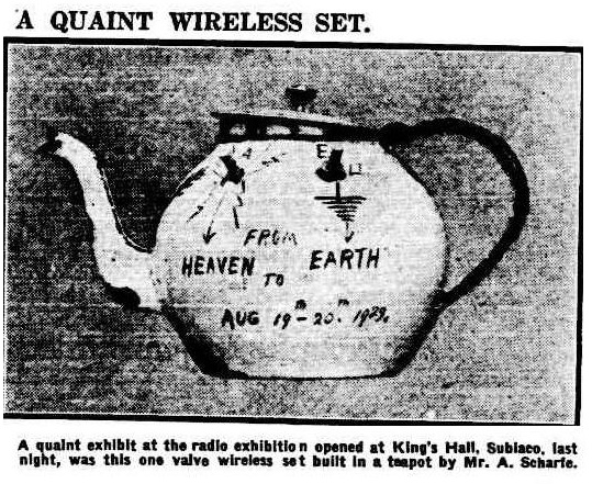 wireless in a teapot