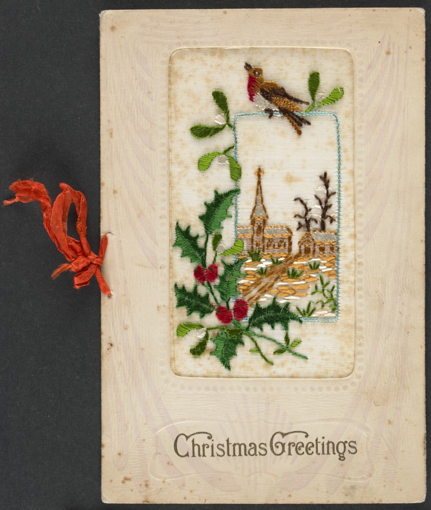 Christmas cards   now and then