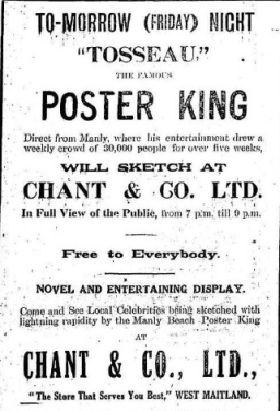 Maitland Daily Mercury - Poster King